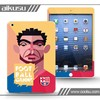 3D Football color printing Skin cover For iPad4 and iPad mini sticker