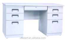 customized steel cheap white computer desk