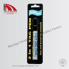 allflex ear tag mark pen for marking animal ear tag 13.5*6mm