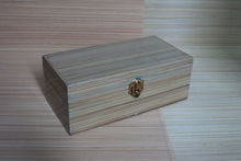 Rectangular Bamboo Box With Lid With Small Lock