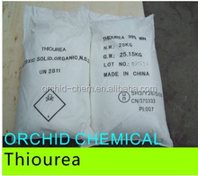 Thiourea 62-56-6 mining chemical high quality low price