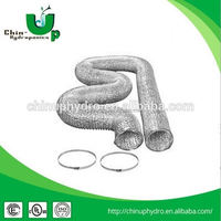 hydroponics ventilation ducting/ insulated vent duct/ aluminum flexible exhaust pipe