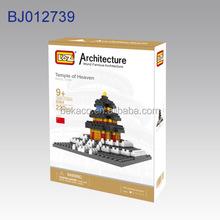 Nano block architecture model 2015 product / hot toys 2015