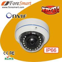 Best ir night vision 1080p full hd 2 megapixel p2p dome ip cctv camera POE FCC,CE,RoHS Certification