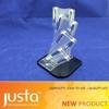 acrylic vertical blade kitchen knife holder