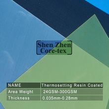 Thermosetting Resin Coated Fiberglass Cloth