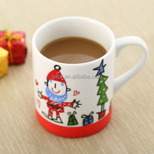 200cc ceramic cup for kids with silicone base
