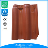 Chinese Ceramic tile Excellent frost resistance Roof Tile 300x400mm