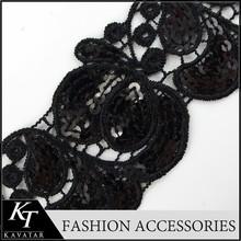 Stretch Lace Ribbon for Children Dresses/Diy Garments Accessories Sequin Strech Lace Trim