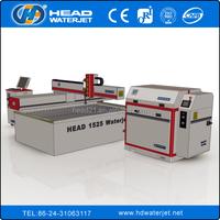 1500*2500mm CNC CE certificate marble mosaic /glass/metals/foam/rubber/textile/plastic water jet cutting machine