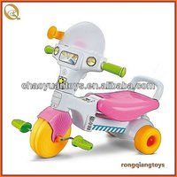 Cute plastic Pink kid ride on tricycle SP1496907C