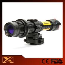 Quick release green laser designator for m4