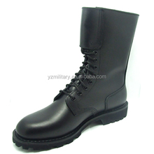 2015 New army design cow leather nylon fabric classical military boot