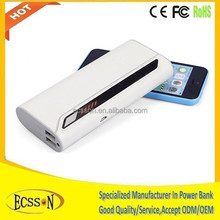 2015 slim power bank for mobile phone or tablet pc, portable power bank for travel