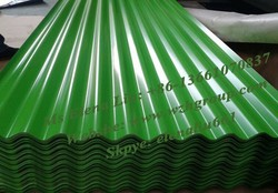 corrugated roofing sheet /insulated roofing sheets /colorful stone coated metal roof tile/color corrugated steel sheet