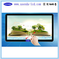 42 46 55 inch Wall mount lcd touchscreen monitor with built in computer