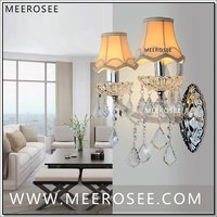 Maria Theresa Crystal Wall Sconces Light Fixture with 2 lights Clear color