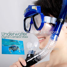 lowest factory price 30 Meter diving mask HD 720P goggles with camera