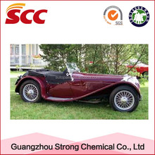 Spray Application Method and car coating polyurethane color paste