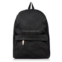Strong Black Backpacks Bags for Students Color Bag for School Best Design SJ137