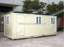 Customized design prefab office container, used office container low price for sale