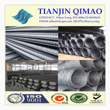 Steel wire rod and steel rebar