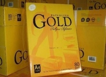 Premium Quality Golden A4 Paper 70g 75g 80g A4 Copy Paper for Sale