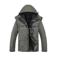 Outdoor Winter Outwear Softshell Jacket Cycling Fishing Coat 88019