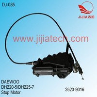 DAEWOO Stop Motor, DH220-5/DH225-7 Excavator, 2523-9016