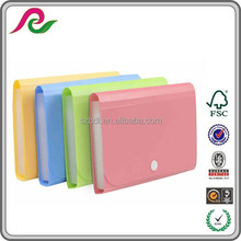 a4 office stationery portfolio pp expanding beautiful file folders with button