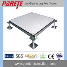 Hot sale 1.2mm HPL covering steel cementitious data center raised floor tiles
