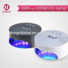 2015 mieux led ccfl nail lampe uv spéciale pour une utilisation de salon