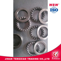40*60*13mm 0.12kg weight steel cage thrust ball bearing 51108