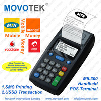 Movotek Mobile Money Point of Sale (POS) Terminal/Device/Vending Machine with High-speed Thermal Printer (Free SDK)