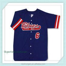 Modern hot-sale cheap red polyester baseball wear