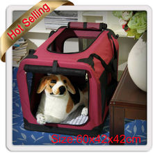 Foldable and Portable Pet Dog Carrier