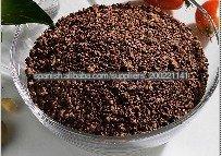 Comida de la semilla de té sin paja