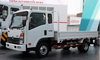 Chinese brand CDW 757 light truck/cargo 4*2/ 6*4 used 10 ton truck