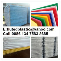 construction protection plastic pp polypropylene fluted board