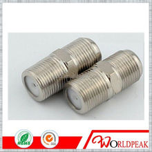 F type connector electronic connector rg11 rg6 compression F type connector