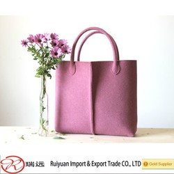 2015 Alibaba new design!!!Elegant felt women leisure bag MADE IN CHINA