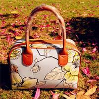 wholesale handbag summer MOQ 1PCS canvas handbags with nice printing