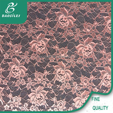 2015 good quality fashion rose lace and sunset glow lace fabric with cheap lace fabric