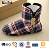 plaids cloth casual woman boot manufacturers