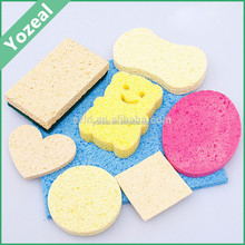 Cheap wholesale compressed cellulose facial cleansing sponge