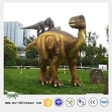 Outdoor Park Animation Design Big Animals Mating Dinosaur