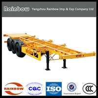 3 Axle 40ft Container Trailer Chassis For Sale