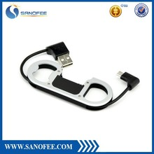 New USB Cable Bottle opener keychain