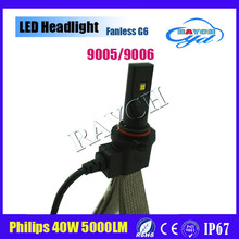 Factory outlet alumnium cob g5 led headlight 5th generation led with cooper wire