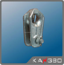 Casting Carbon steel thimble used on ADSS/OPGW electric cable fitting, link fitting